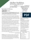 MAY 2010 Apalachee Audubon Society Newsletter