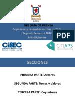 Informe Big Data Semestre 2 de 2016