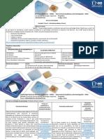 Guía de Actividades y Rúbrica de Evaluación - Paso 2 - Actividad Problema 1 Fase 1