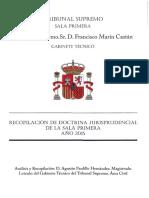 60718 Recopilación de Doctrina de La Sala . Año 2015
