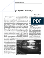 Future of High-Speed Railways