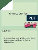 Anecdote Text