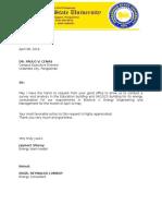 Letter(Energy Management)