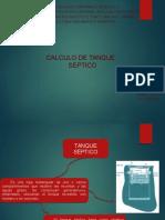 Calculo de Tanque Septico Daniel Pirela
