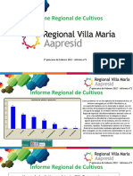 Informe Aapresid Villa Maria