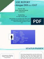 TB Paru Dengan Drug Induced Hepatitis e.c OAT