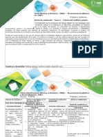 Guía de Actividades y Rúbrica de Evaluación - Tarea 2 – Crónica Del Conflicto Agrario