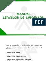 Manual Servidor de Impresion Linux Ubuntu