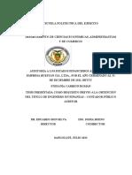 AUDITORIA A LOS ESTADOS FINANCIEROS.doc