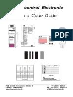 PCE Pharmacode Guide V04-05 En