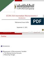 1) Macro Measurement Variables