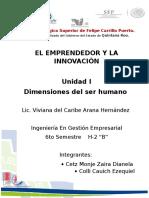 Reporte Dimensiones Del Ser Humano