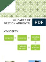 Unidades de Gestión Ambiental