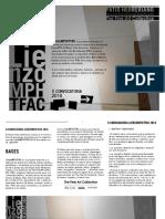 II Convocatoria LienzoMPH_TFAC 2016