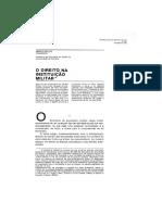 O Direito Na Instituicao Militar-Mario Tenreiro-1986