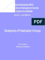 ABCIC - Development of Prefabrication in Europe (2011)