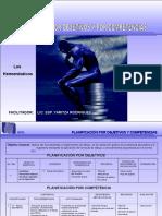 Planificacion Objetivos y Por Competencias.