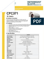 CPC371 Spec camara bullet