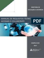 Versão 2017 - Manual Do Collaborate - Requisitos Técnicos Para Assistir Às Webaulas