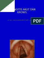 Laringitis Akut Dan Kronis