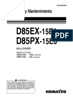 O&M D85EX-15E0 (esp)