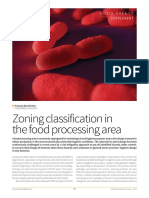 Zoning Systems in the Food Processing Area