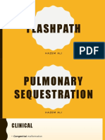 FlashPath - Lung - Pulmonary Sequestration