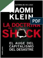124559936 La Doctrina Del Shock El Auge Del Capitalismo Del Desastre Naomi Klein