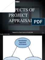 2.Aspect of Project Appraisal