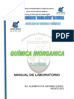 Manual de Pract. Quim. Inorg Plan 2009