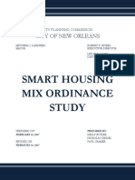 Smart Housing Mix Ordinance Study