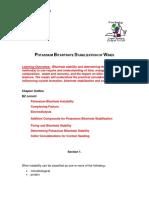 !!!!Potassium Bitartrate Stabilization of Wines