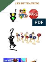señales de transito para Niños