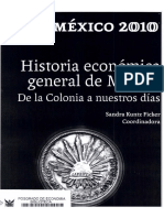 Kuntz Coord 2010 Historia Economica General de Mexico