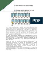 Titulación Anticuerpos y Ejercicios Cálculo Diluciones y Volúmenes