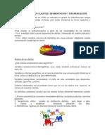 Analisis y Segmentacion Del Cliente