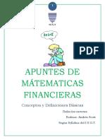 Apuntes de Matematica Financiera Andres Scott