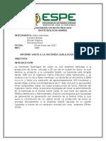 Informe Hacienda Lechera