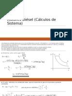 Motores Diésel (Cálculos de Sistema)