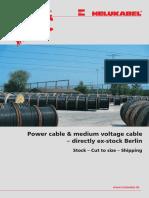 CW FLYER Power Cables Medium Voltage Cables En
