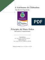 Principio Del Buen Orden