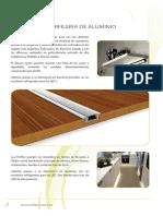 Catalogo Perfiles Aluminio Led