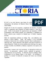 Cristina Senadora y La Unidad