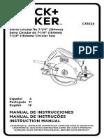 Cs1024 Manual