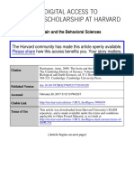 Harrington Brain Behavioral Proofs