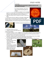 sky science study guide