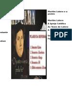 Martim Lutero e a reforma     protes                         protestante.docx