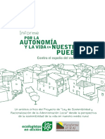 Informe Jornadas Rurales