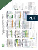 Calendario Escolar 2016-2017 Semestral