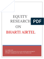 Airtel Equity Research Report